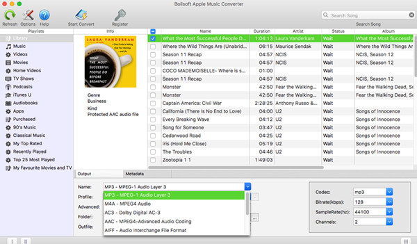 How to Convert Purchased Audiobooks AAC to MP3