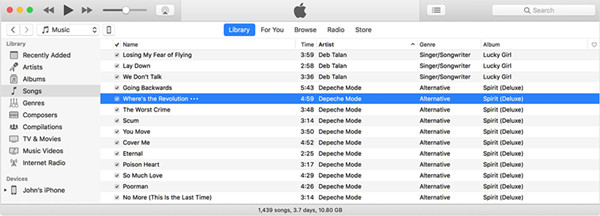 how to get music from spotify to itunes
