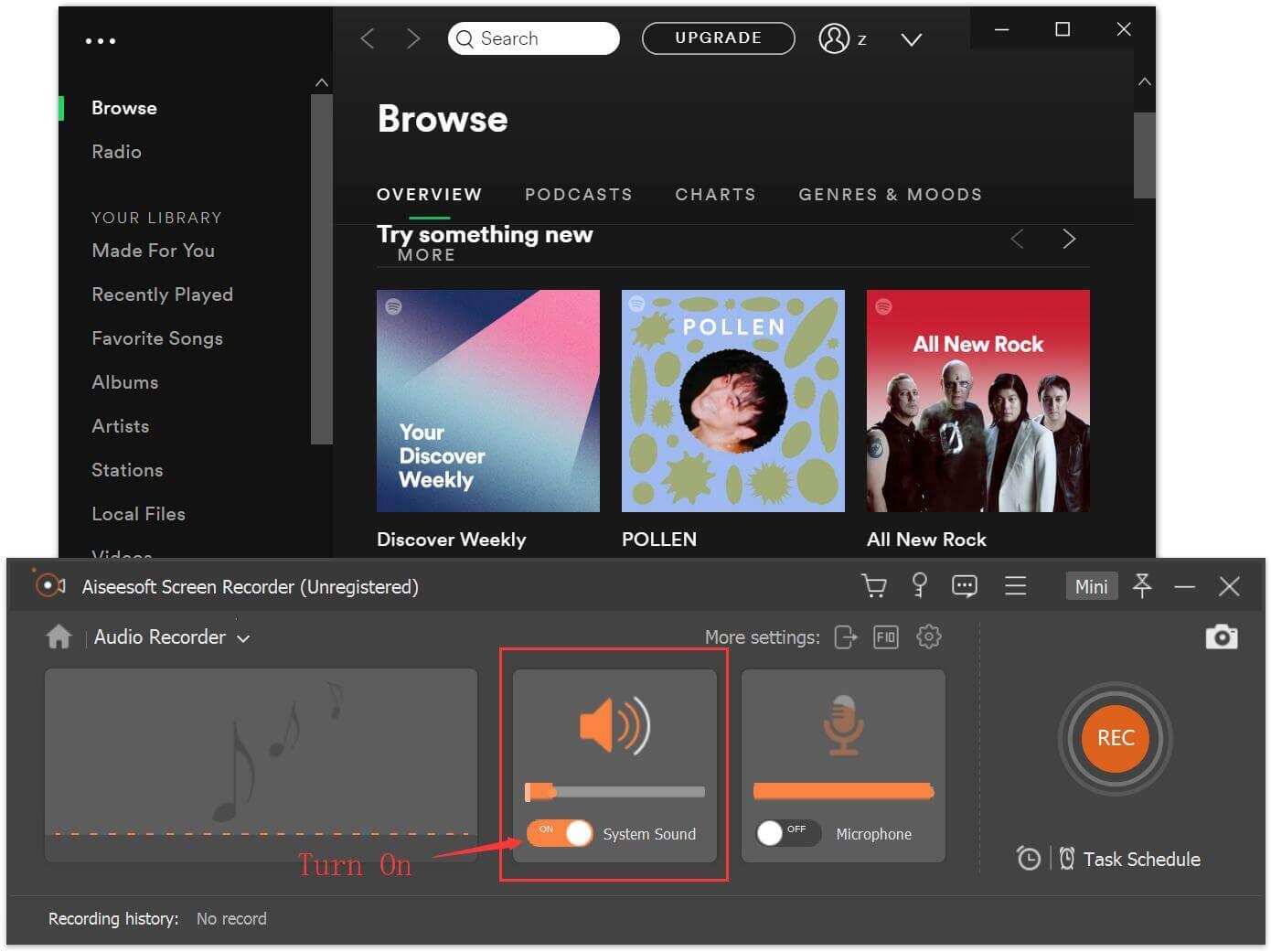 UkeySoft Audio Recorder
